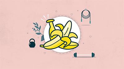 Será a banana uma fonte de energia antes e durante o exercício?
